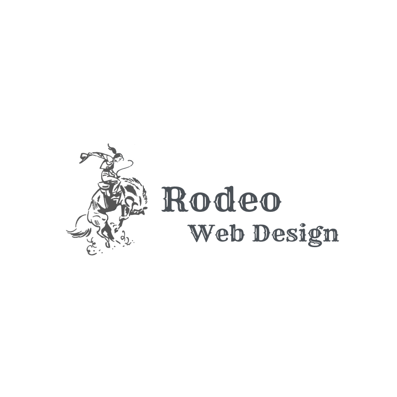 rodeo web design logo